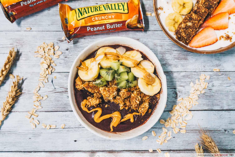 nature valley granola bars acai bowl