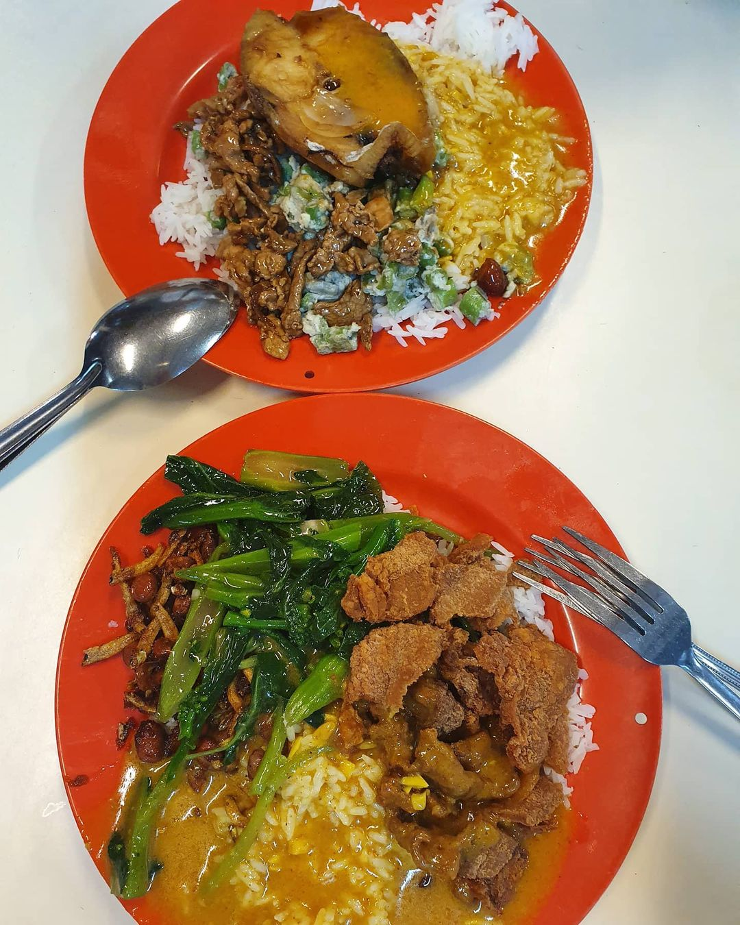 jing shu shi curry rice tanglin halt food centre