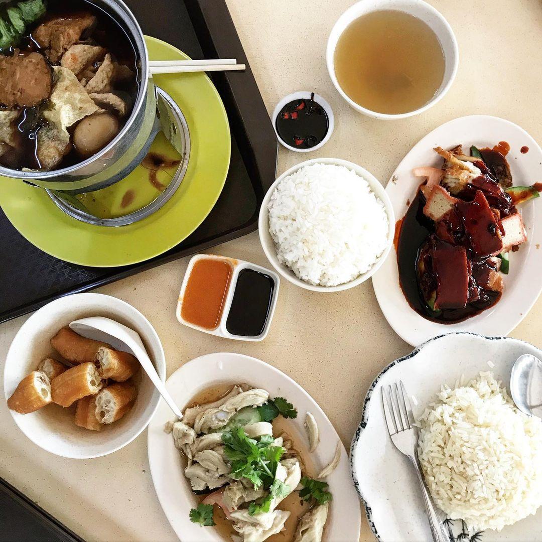 li wei vegetarian food singapore