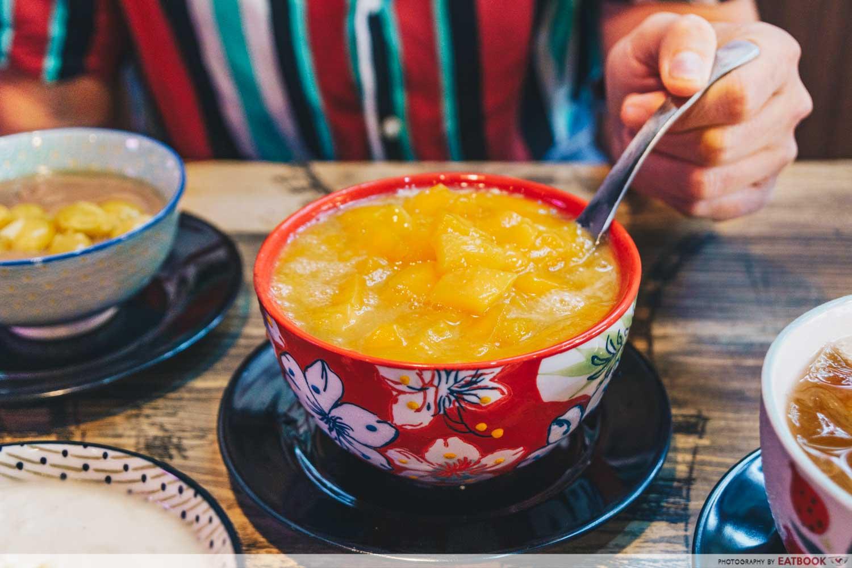 mango sago tian wang desserts
