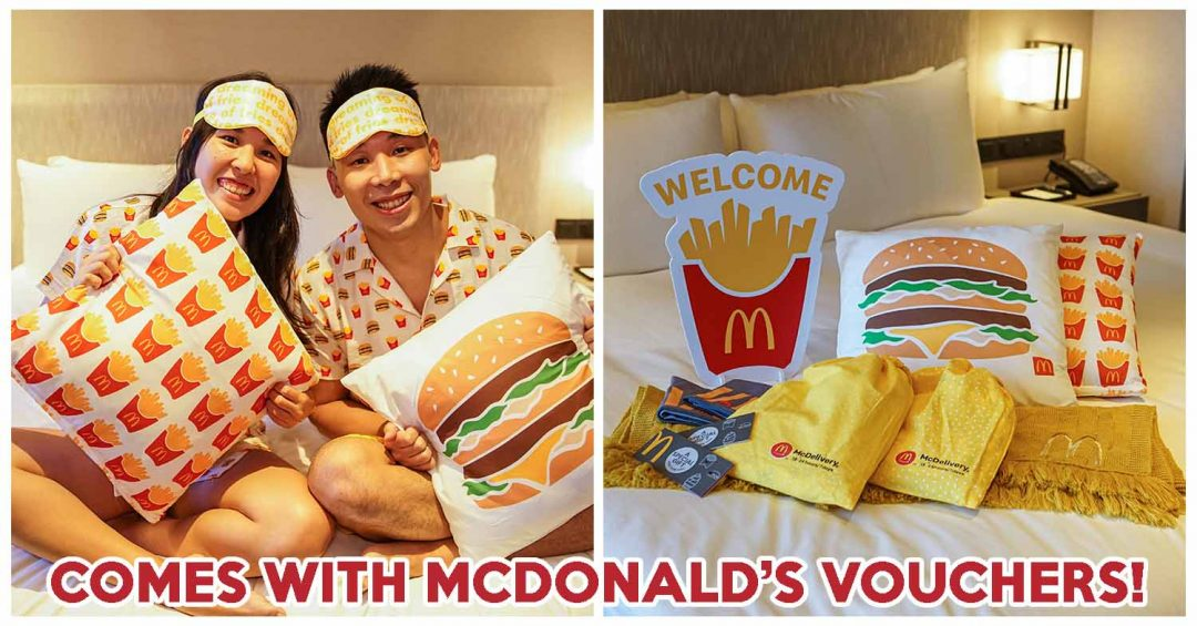 mcdonald's staycation cover new
