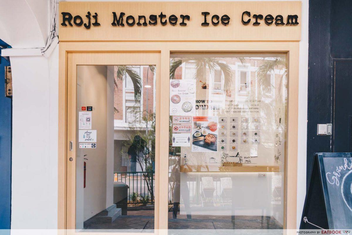 roji monster exterior
