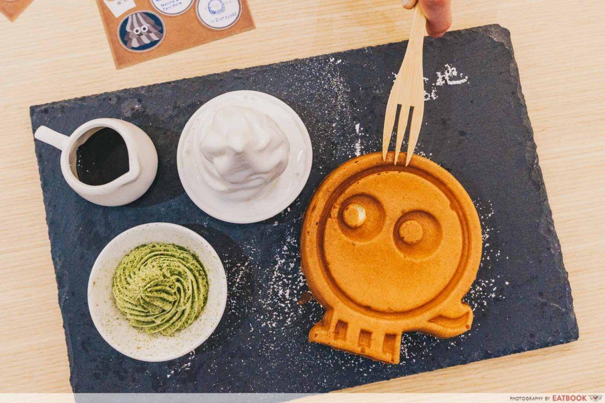 roji monster waffle