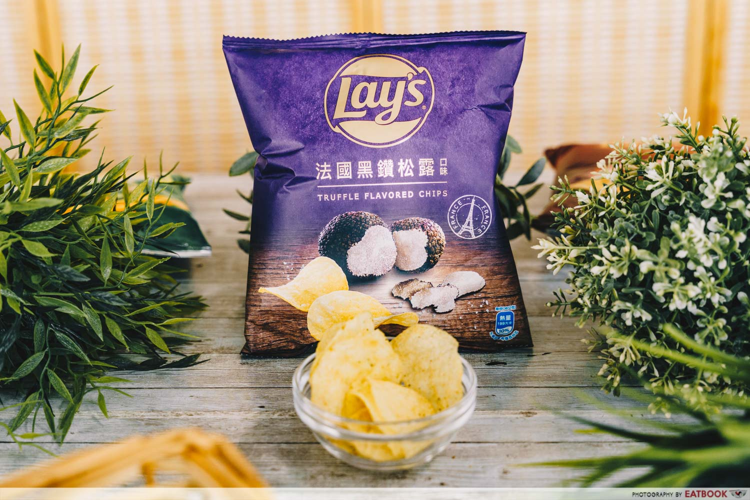 truffle lays chips