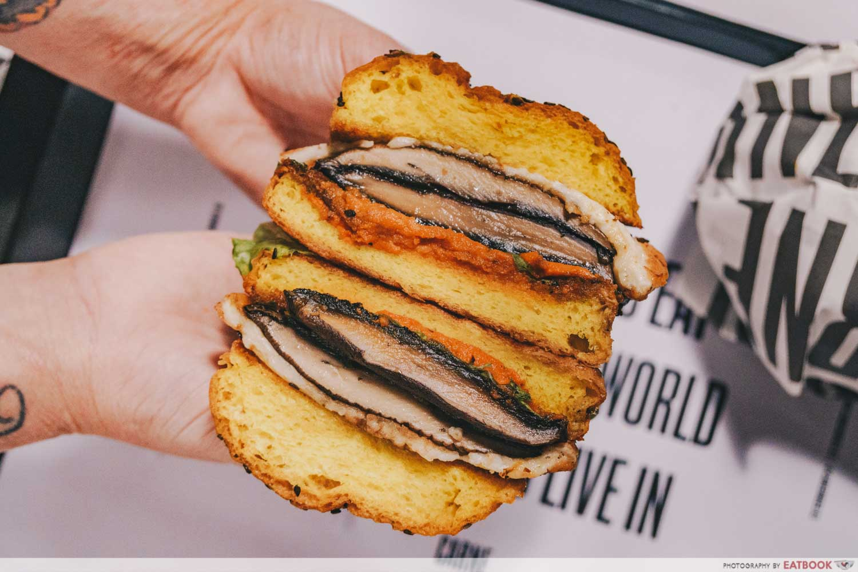 veggie burger carne