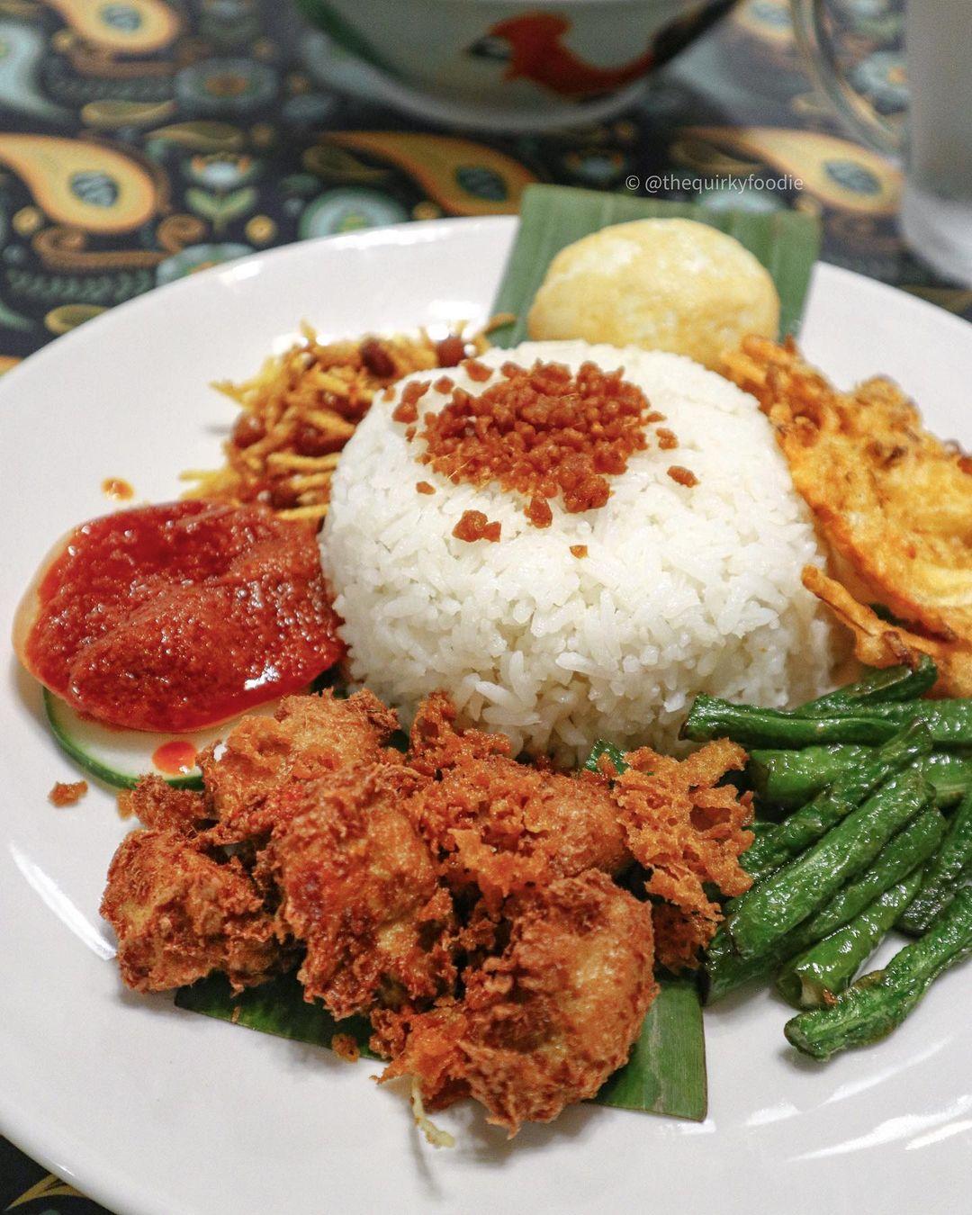 warung ijo vegetarian food singapore