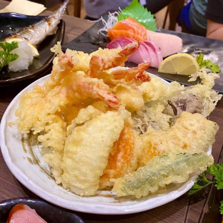 KUMO JAPANESE DINING TEMPURA