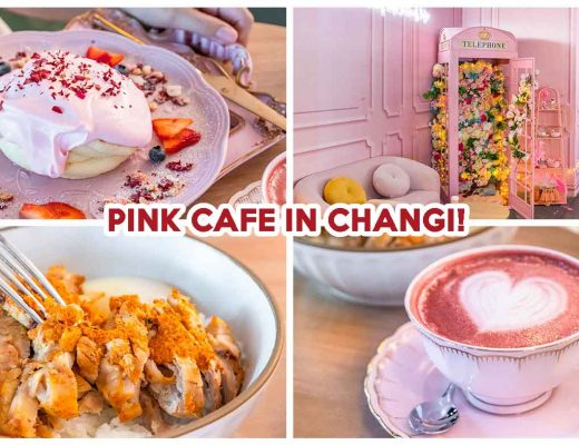 a beautiful day pink cafe