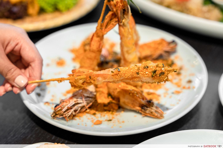 crispy king prawn