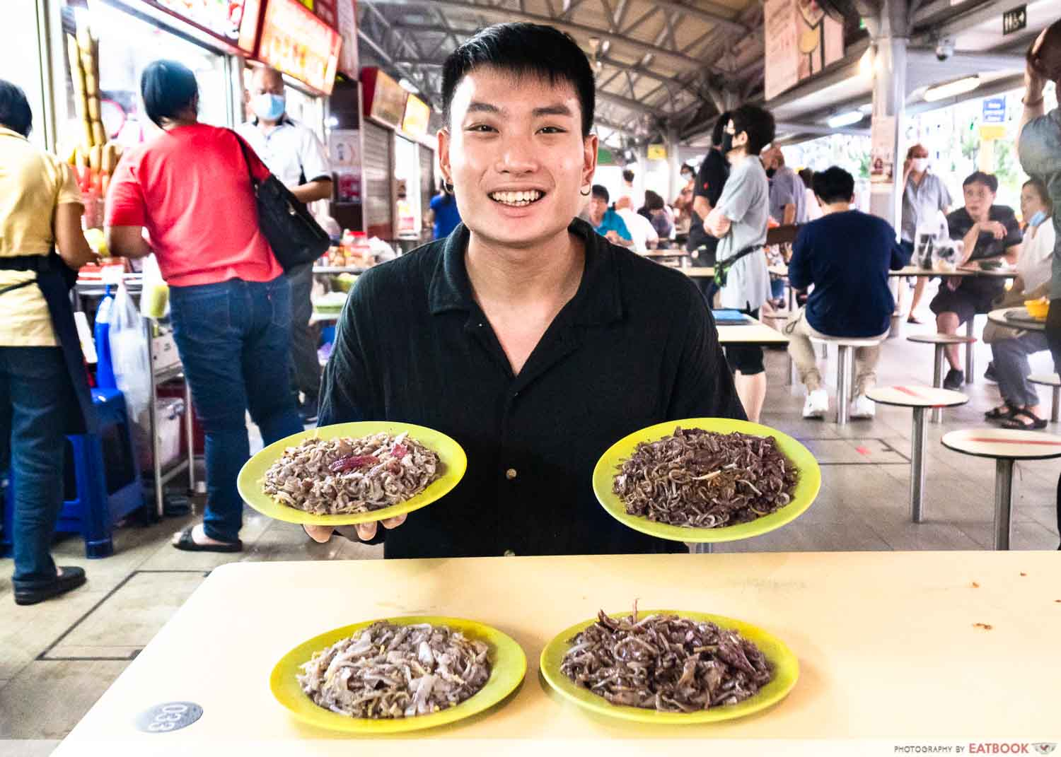 Cockles Fried Kway Teow - verdict shot