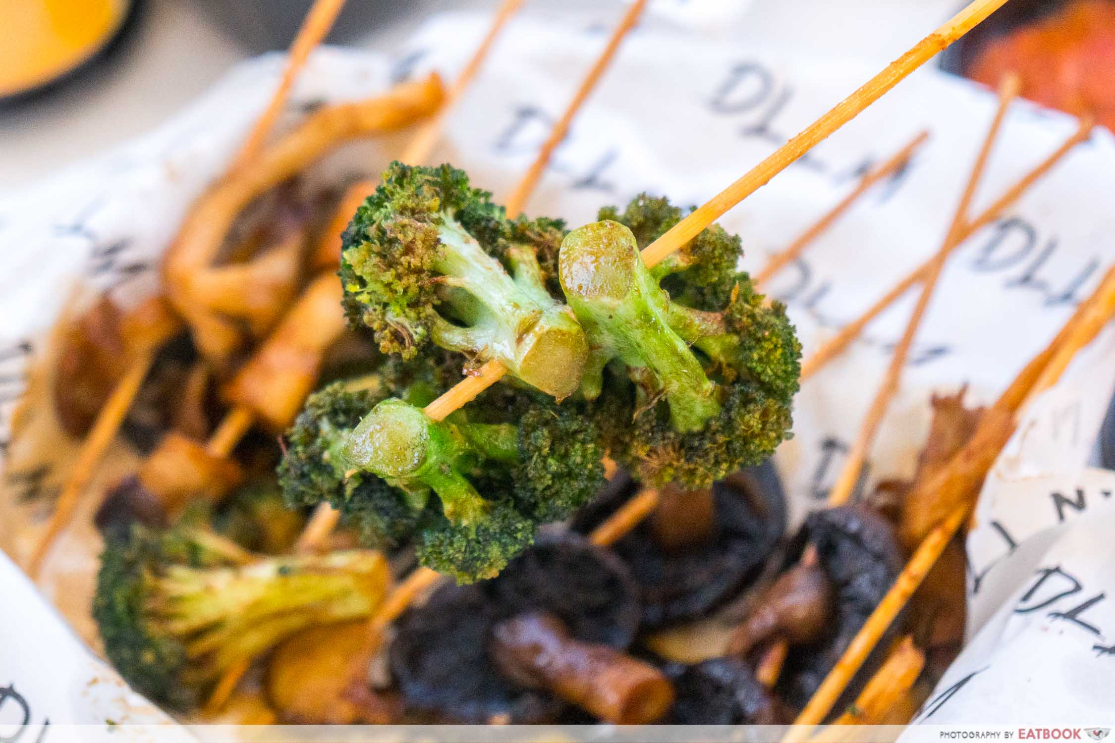 DLLM Lok Lok - broccoli