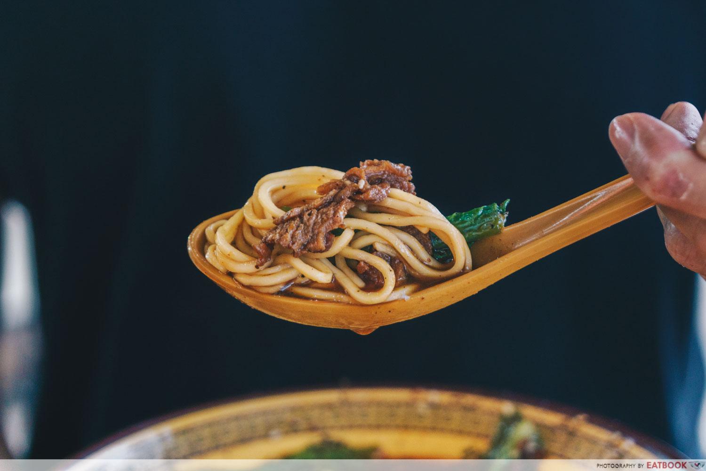 Da Shao Chong Qing Xiao Mian - beef noodle (2)