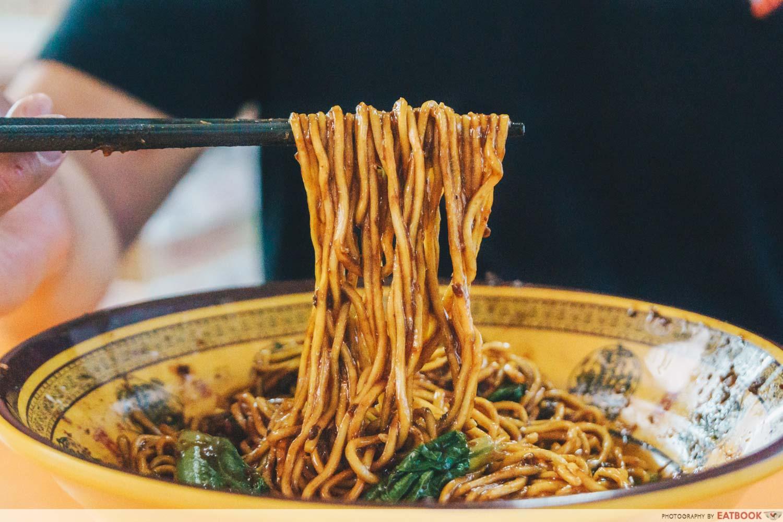 Da Shao Chong Qing Xiao Mian - micned meat noodle pull