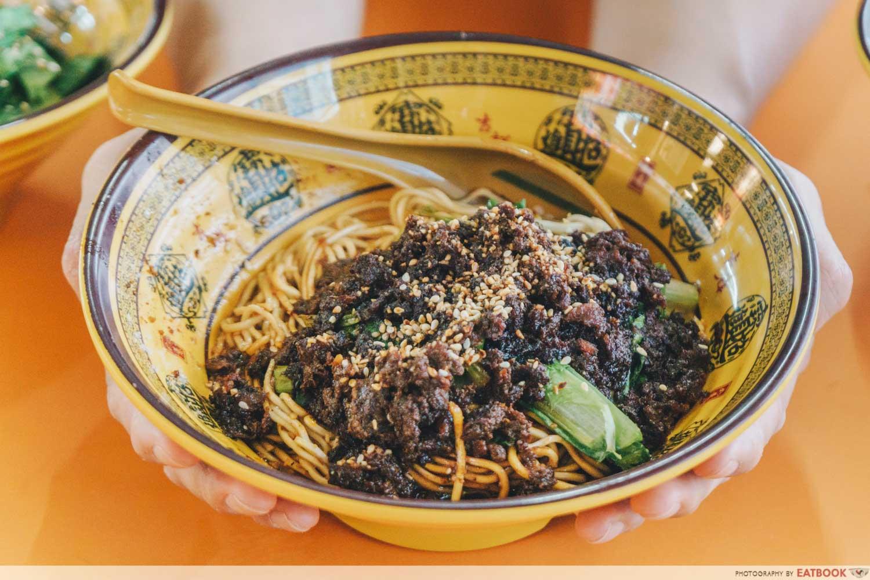 Da Shao Chong Qing Xiao Mian - minced meat noodle