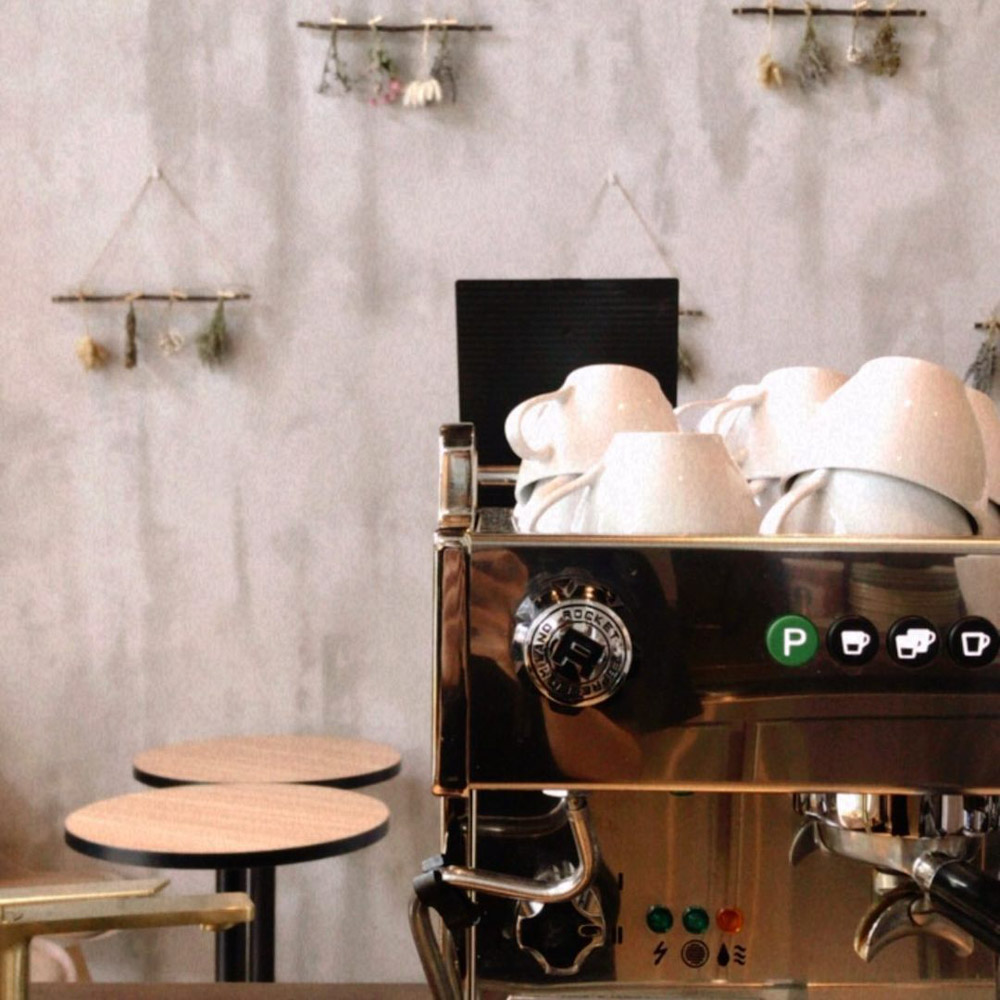 Edith Patisserie - coffee machine