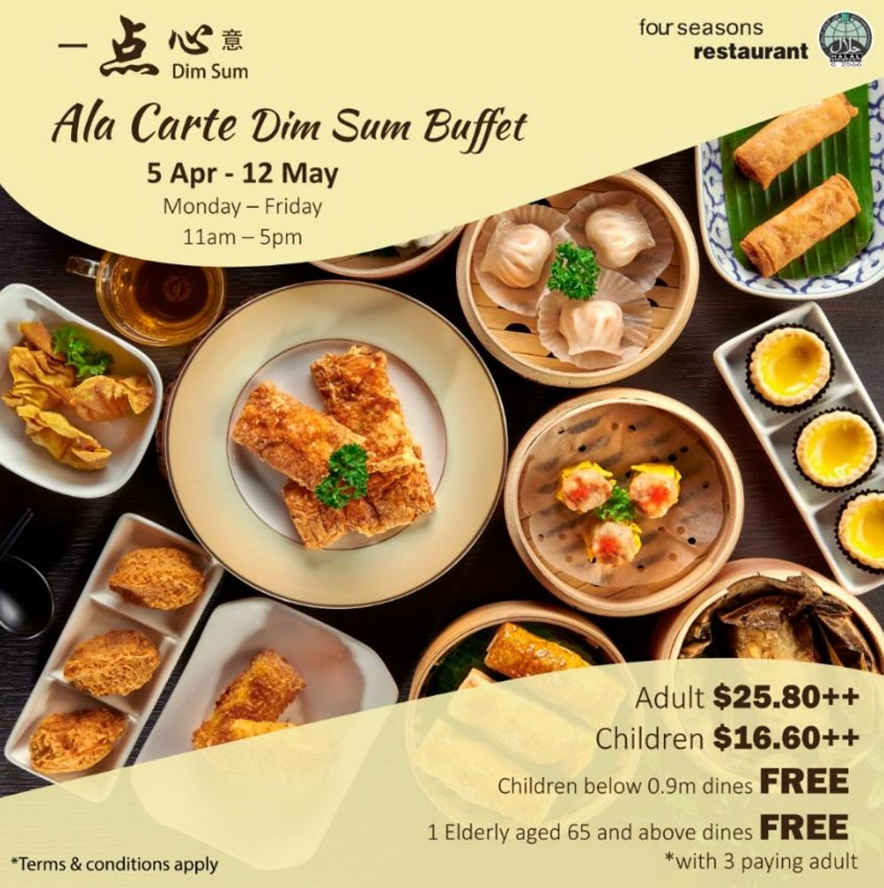 Four seasons Restaurant - Dim sum promo