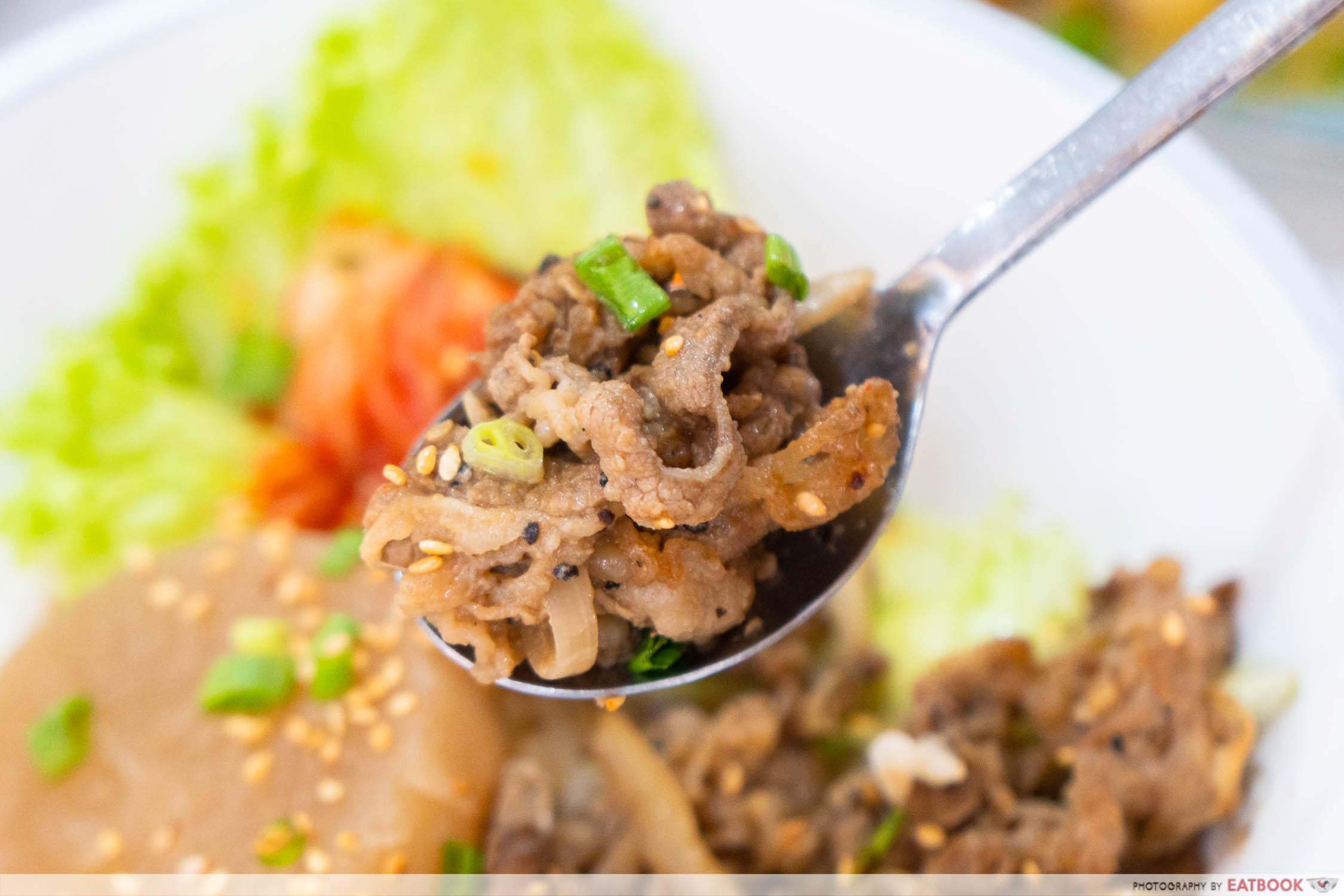 Hungry Korean - bulgogi beef