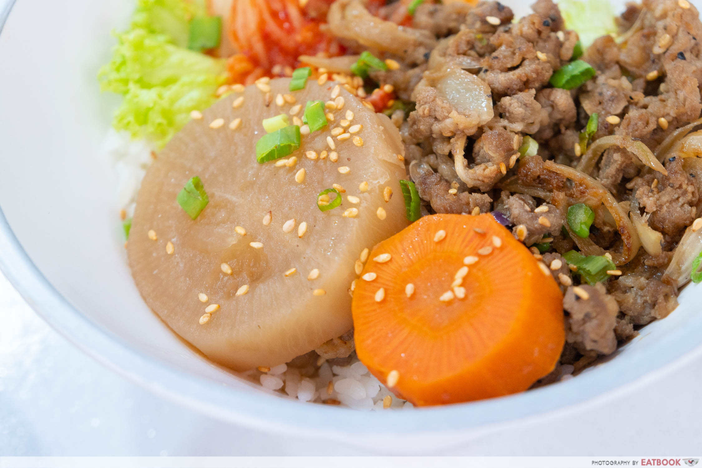 Hungry Korean - radish and carrots
