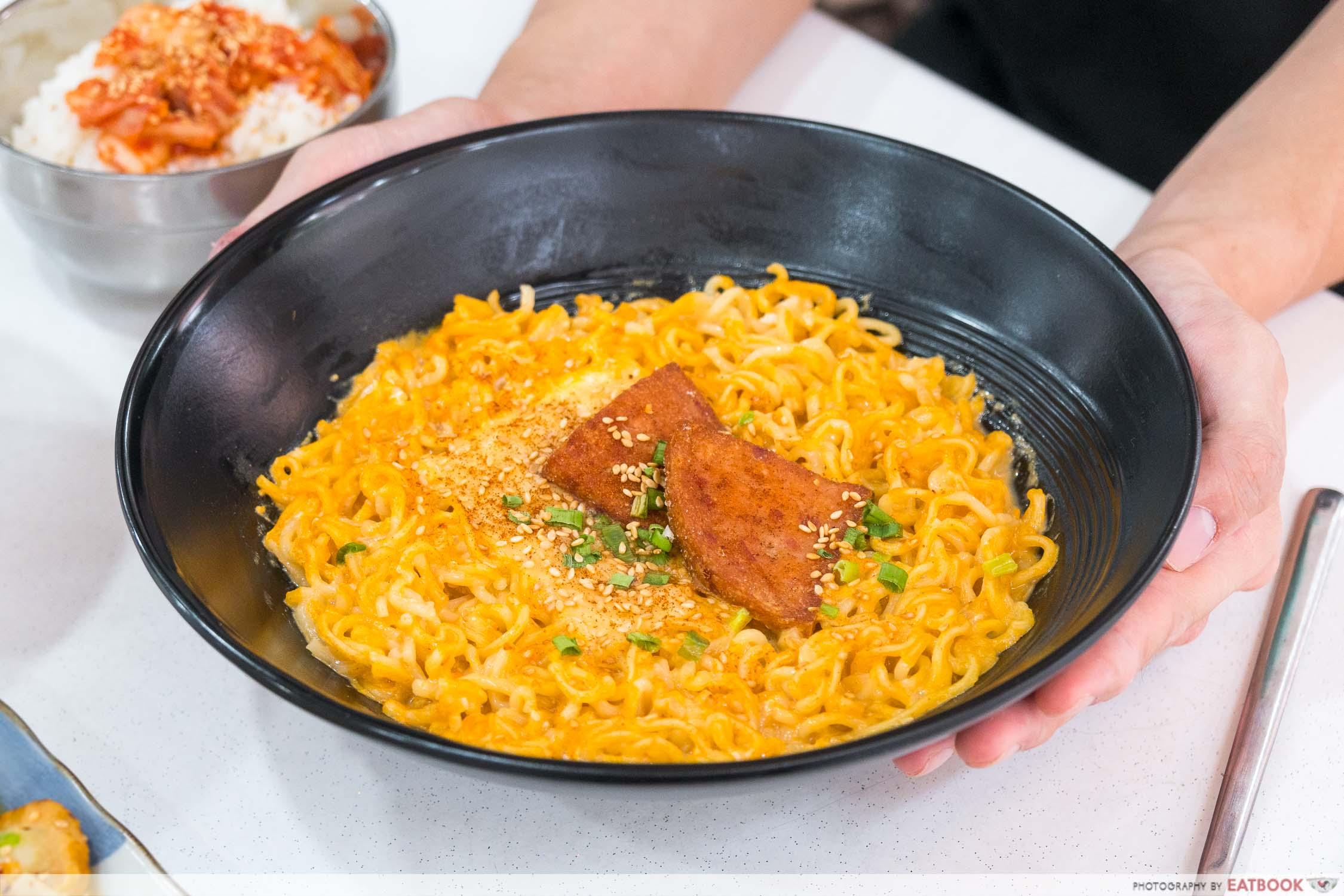 Hungry Korean - volcano ramen