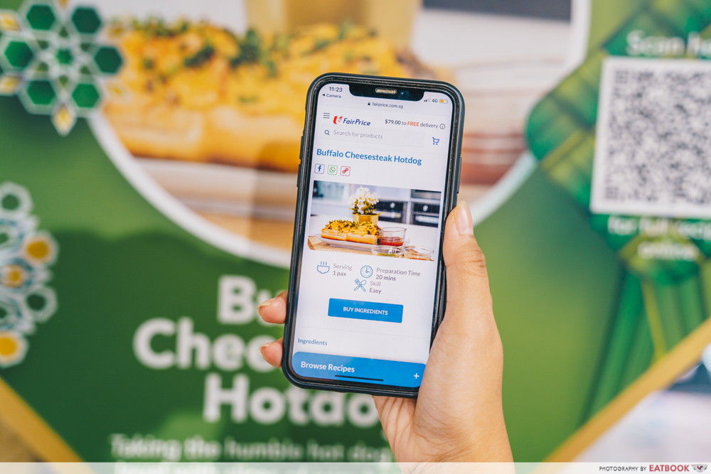 Mini Geylang Serai - fairprice app