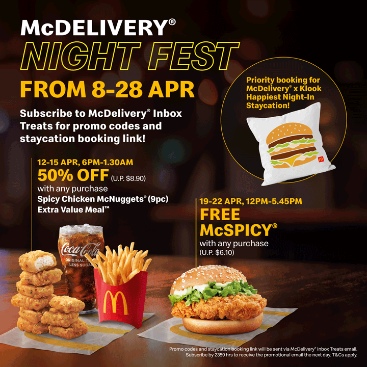 MCDELIVERY NIGHT FEST DEALS