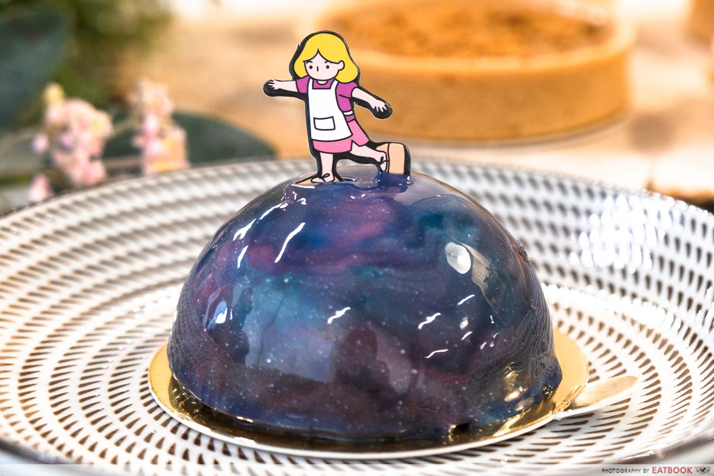 rachelrax cakes galaxy dome