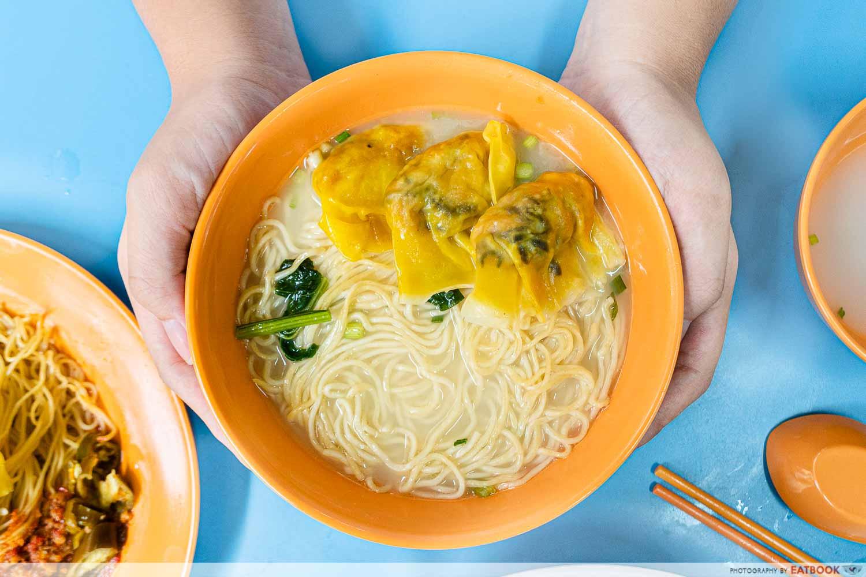 dumpling noodle soup wen kang ji