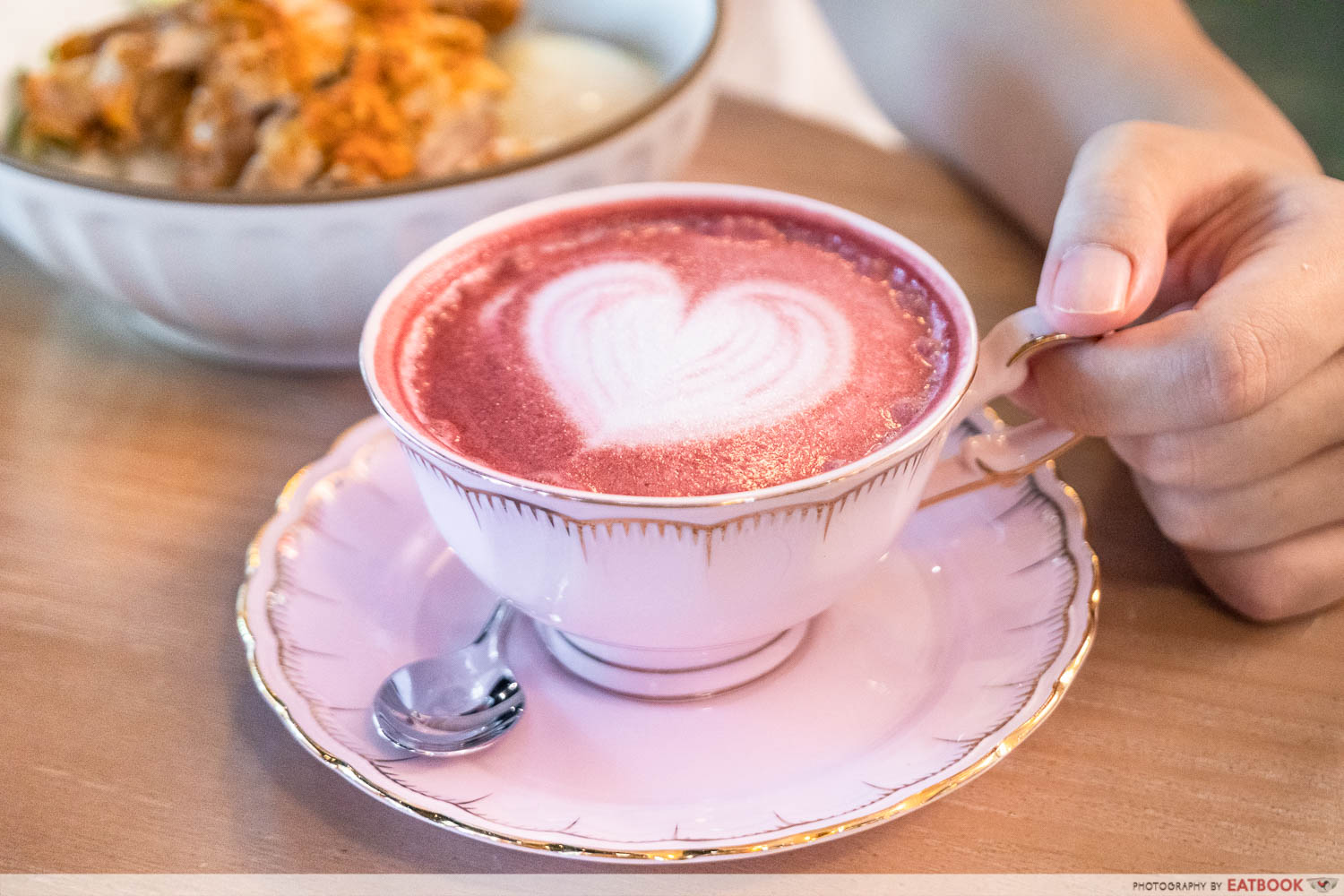 a beautiful day red velvet latte