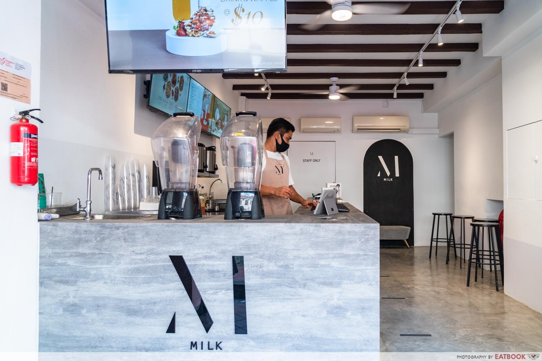 milk singapore ambience