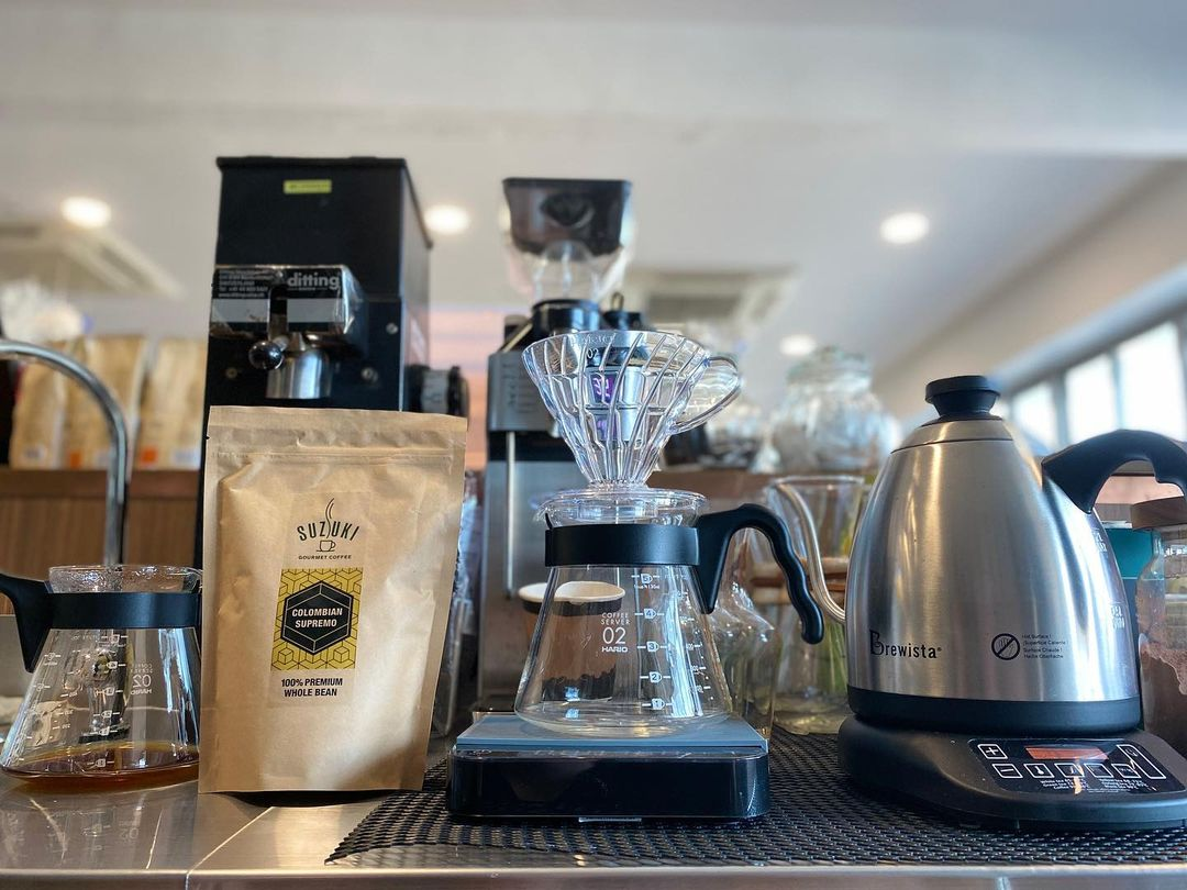 Suzuki Factory Cafe - coffees