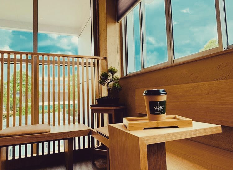 Suzuki Factory Cafe - interior