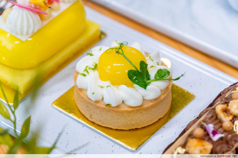 Tuxedo cafe and patisserie - key lime tart