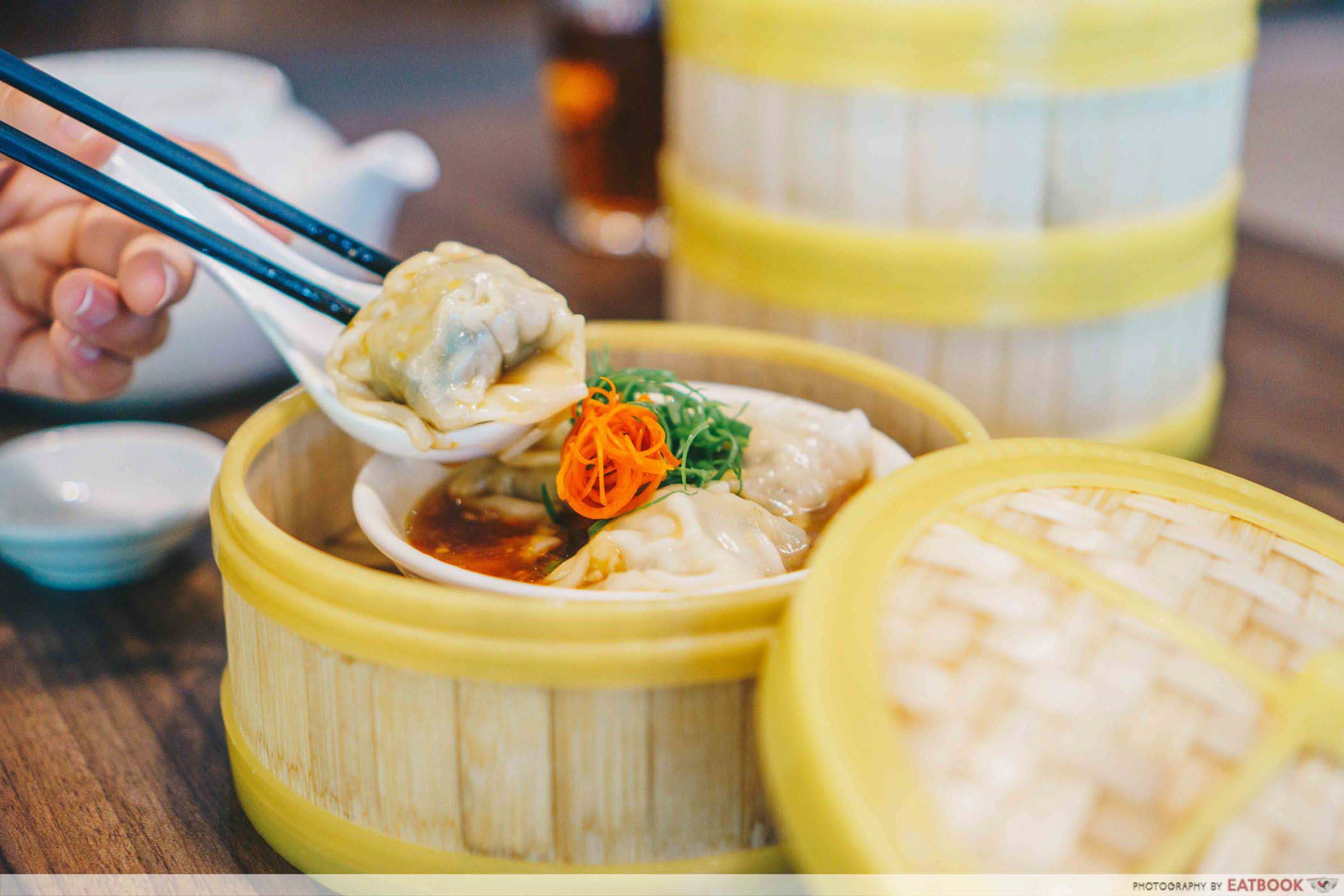 guide to dim sum - bamboo steamer