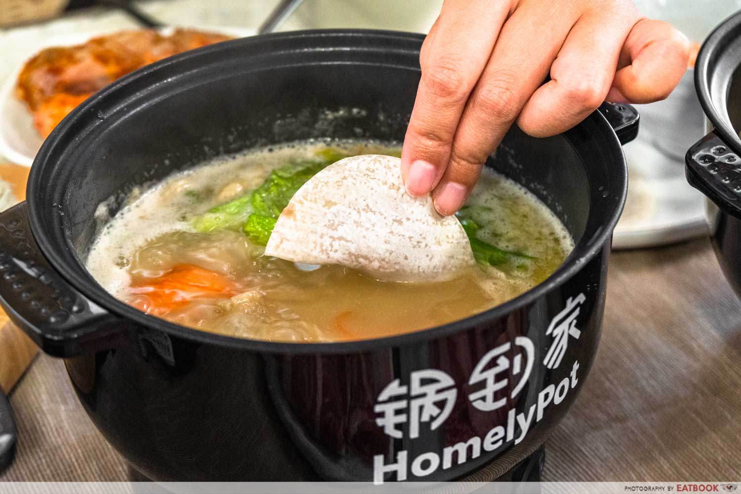 homelypot - dumpling in soup