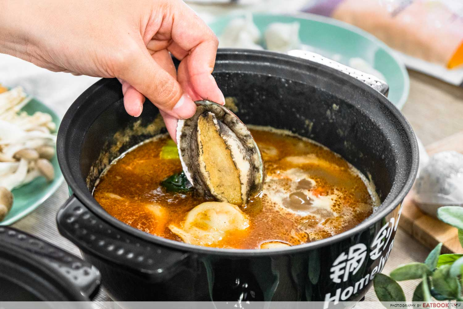 homelypot - fresh abalone
