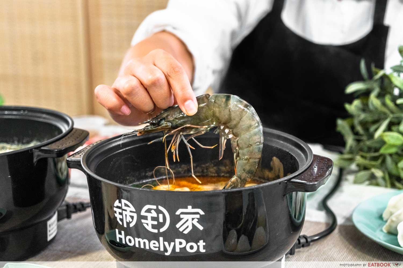 homelypot - prawn