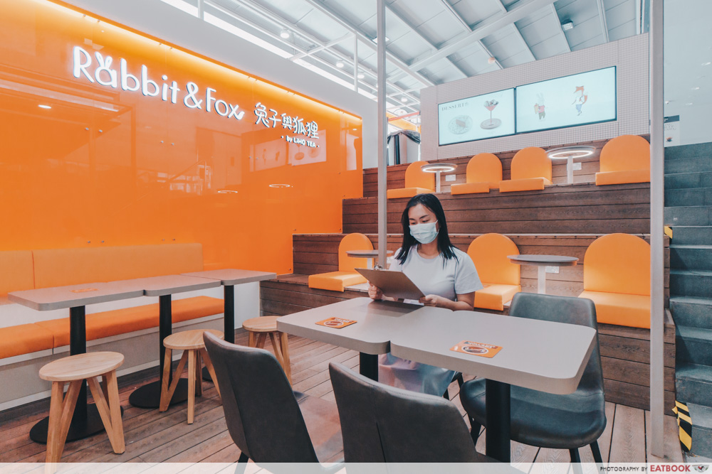 rabbit n fox cafes singapore studying working