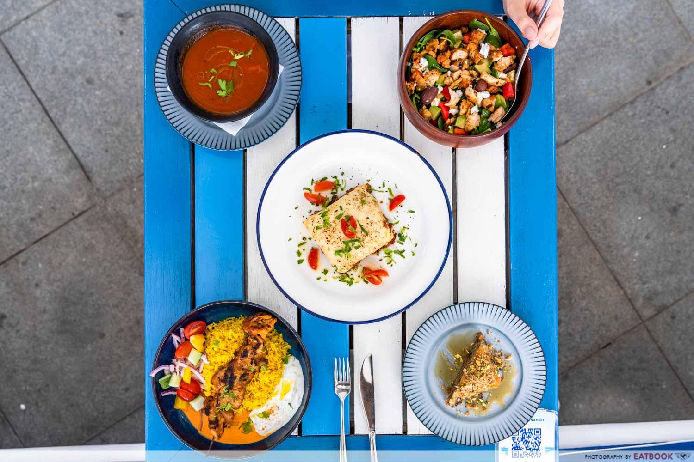 zorba the greek taverna clarke quay lunch sets