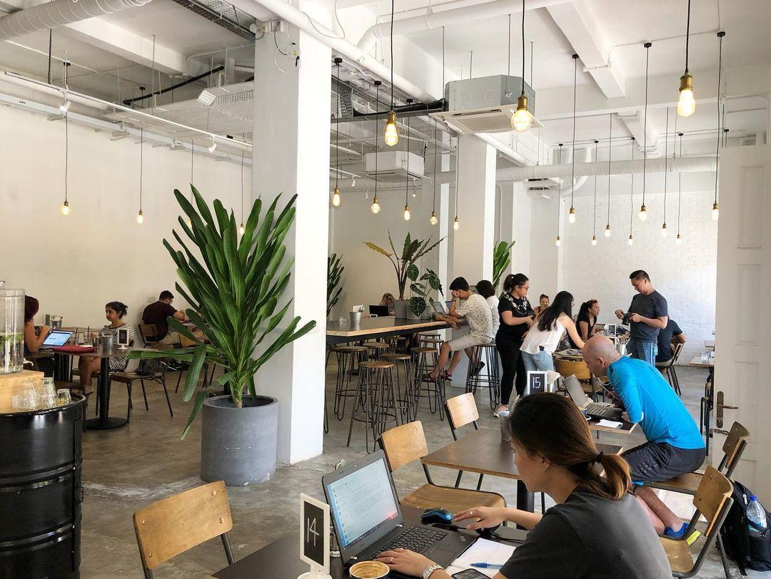 28 cafes singapore working studying singapore