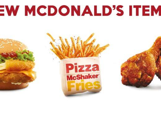 mcdonald's new menu cover