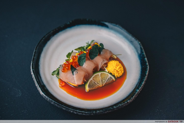 new restaurants may 2021 - taki izakaya sashimi