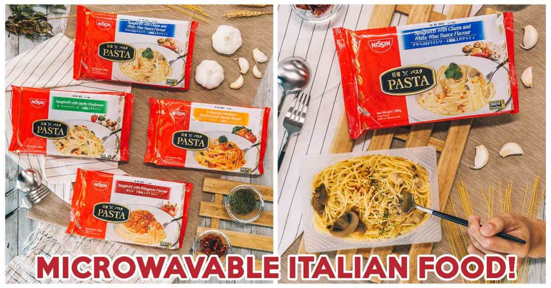 nissin frozen pasta cover