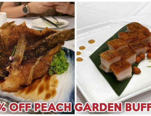 peach garden buffet cover