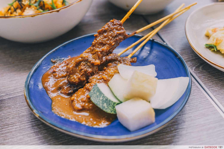 satay ramadan buffet holidy inn singapore atrium