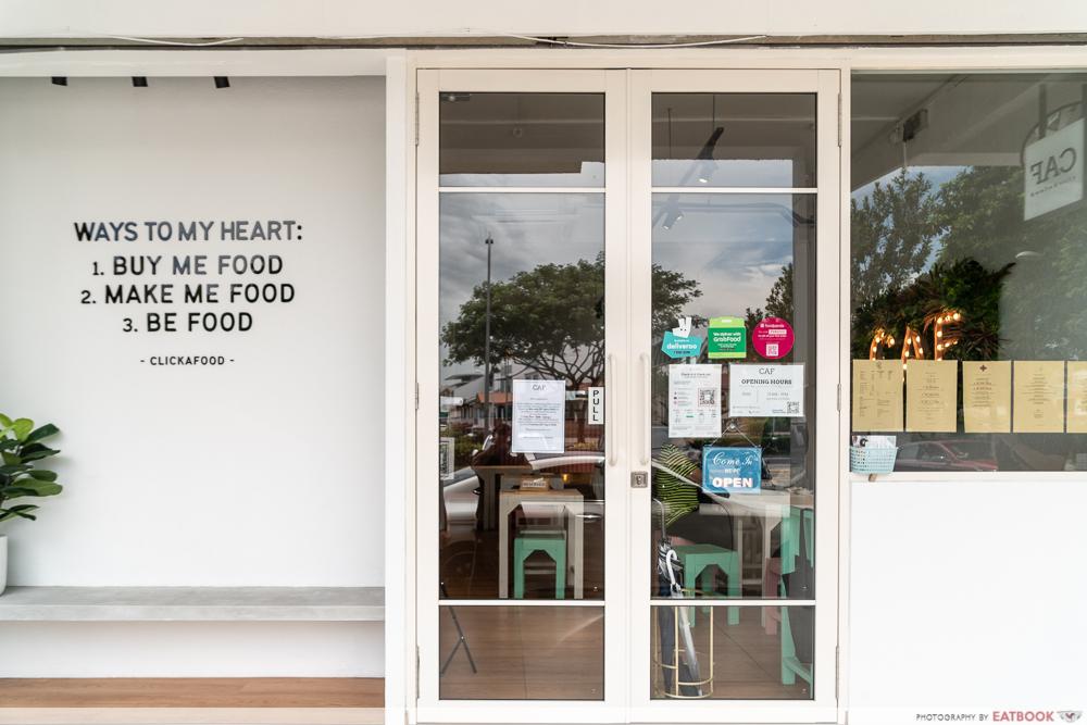 CAF Clickafood - Storefront