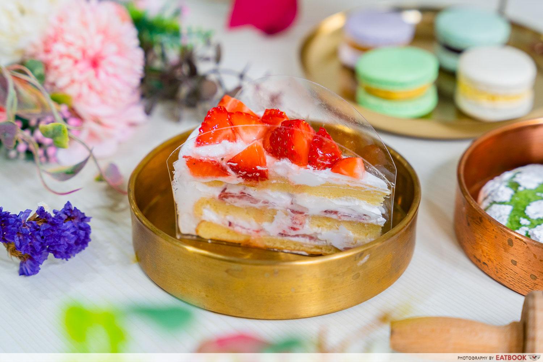 Haengbok Cakeyo - Strawberry shortcake