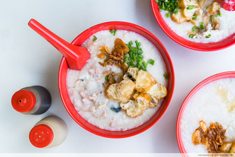 Johor Boon Kee Pork Porridge - pork porridge