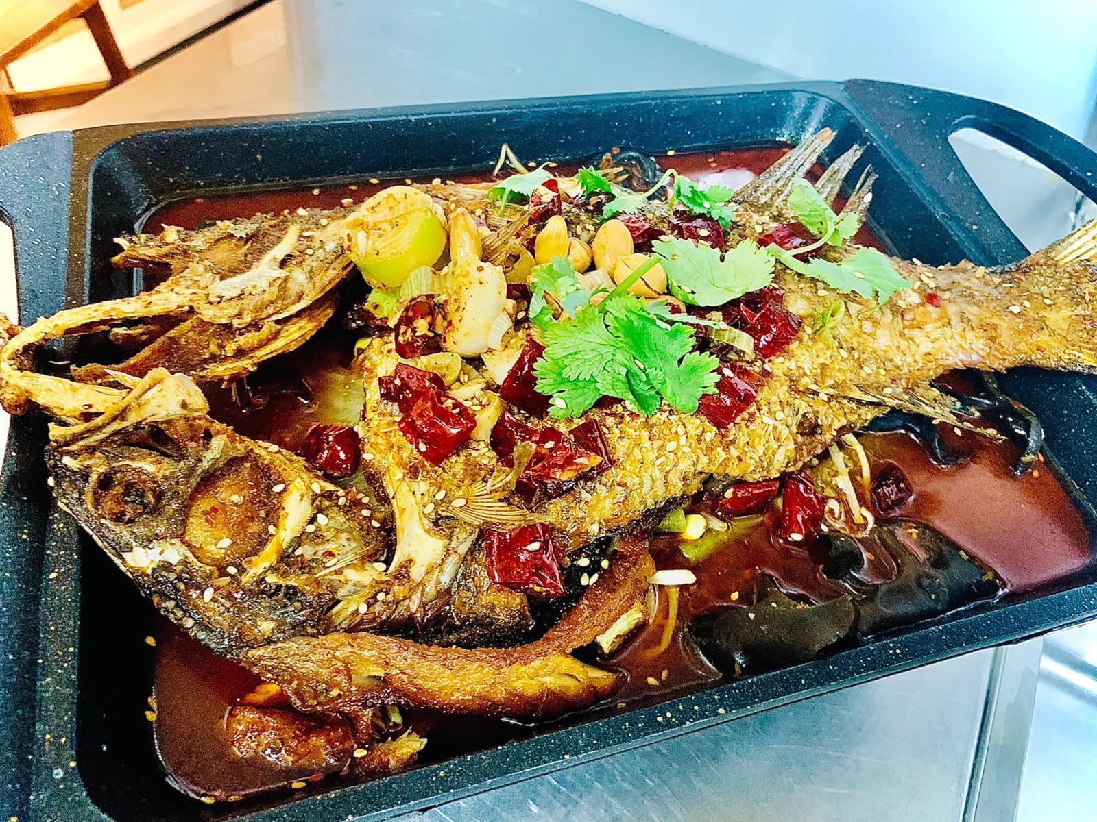 Ju Bao Xuan Mala Hotpot - super spicy grilled fish