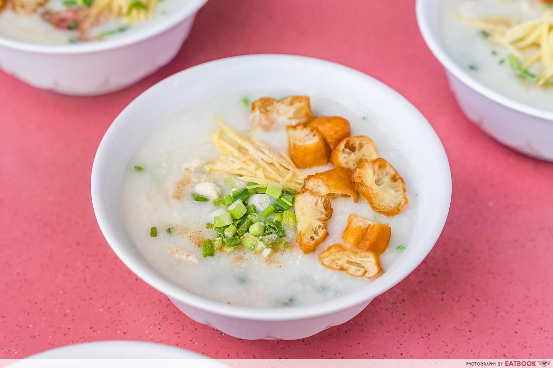 Mei Jie Porridge - individual porridge