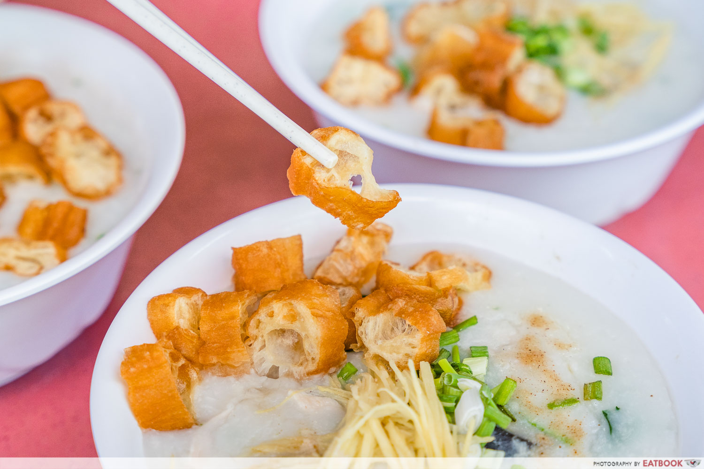 Mei Jie Porridge - youtiao
